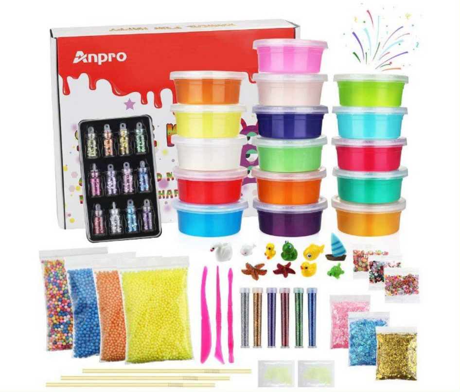 Kit Slime 16 colores