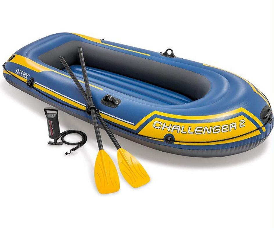 Barca Hinchable Challenger 2 con Remos 236x114x41cm