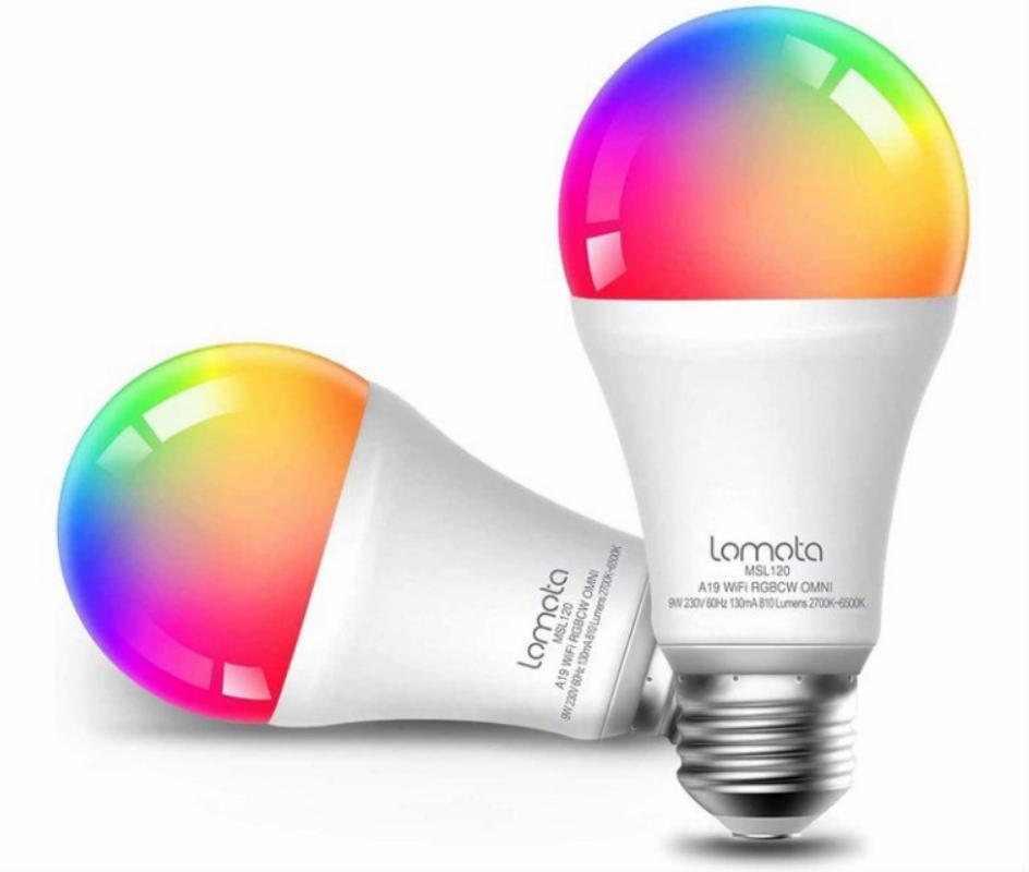2 Bombillas LED Inteligente Lomota