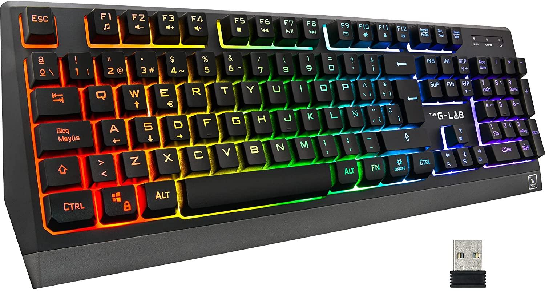 THE G-LAB Keyz Tungsten teclado inalámbrico