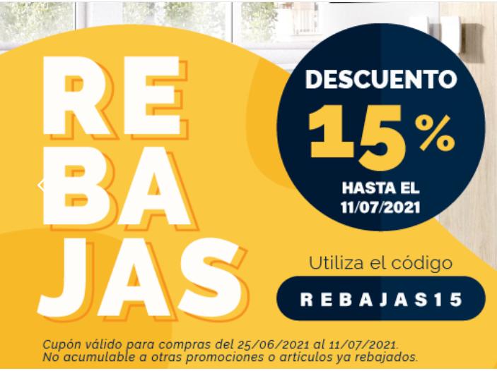 Recopilación muebles 15% + Envío gratis