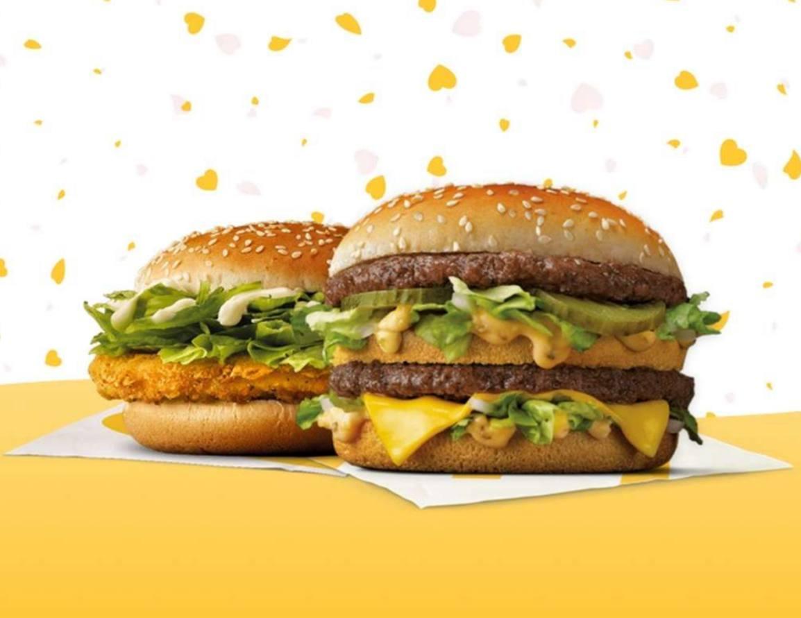 2 Big Mac o 2 McPollo en McDonal's