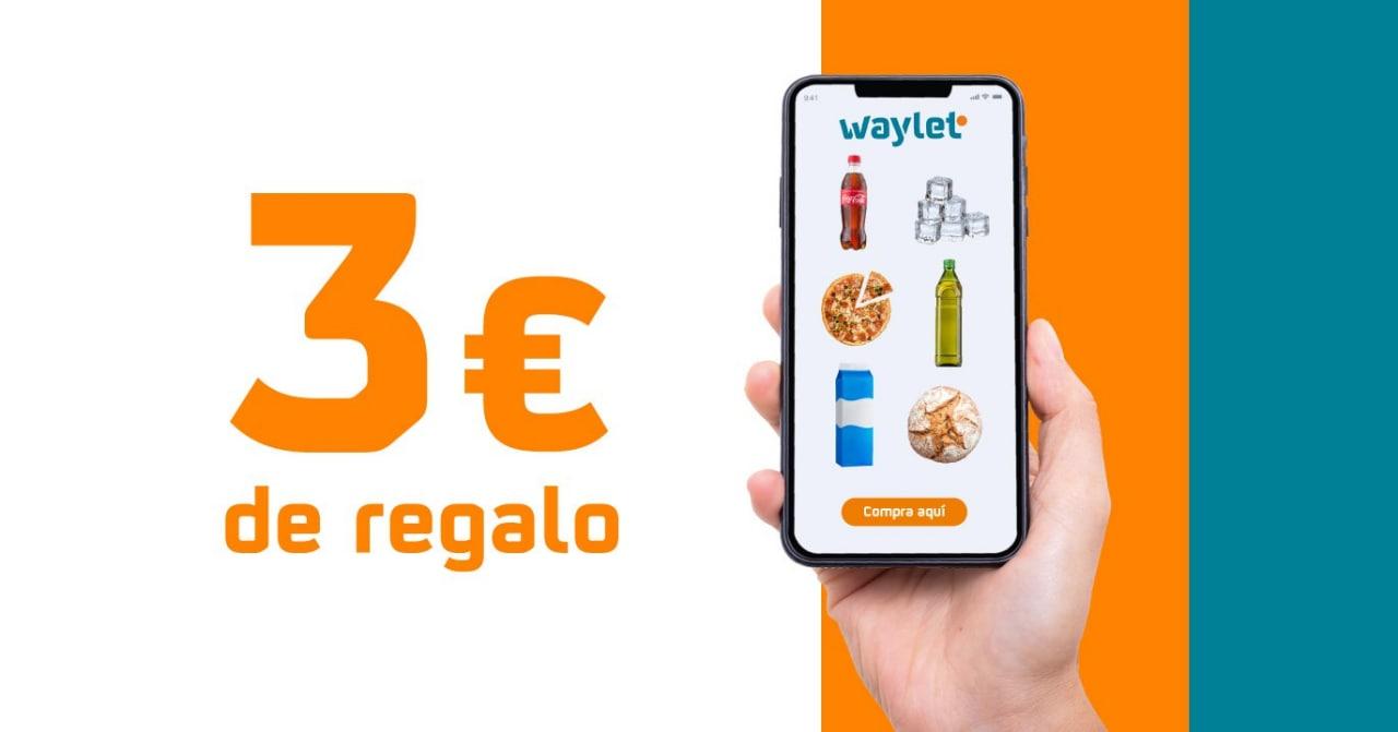 3€ para que compres en la tienda Repsol en Waylet