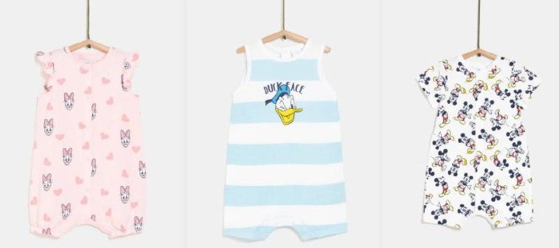 2x Pijamas Bebé Disney