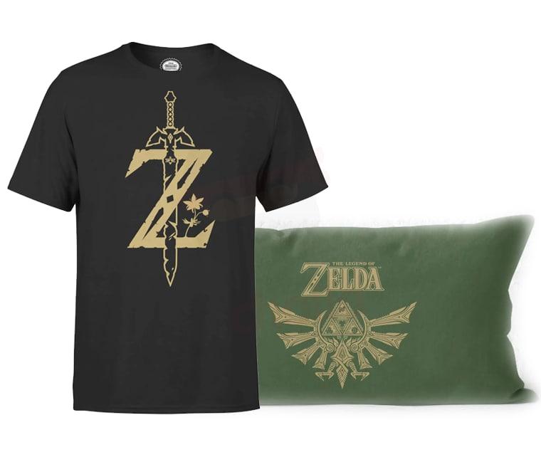 Pack Camiseta + Cojín Zelda