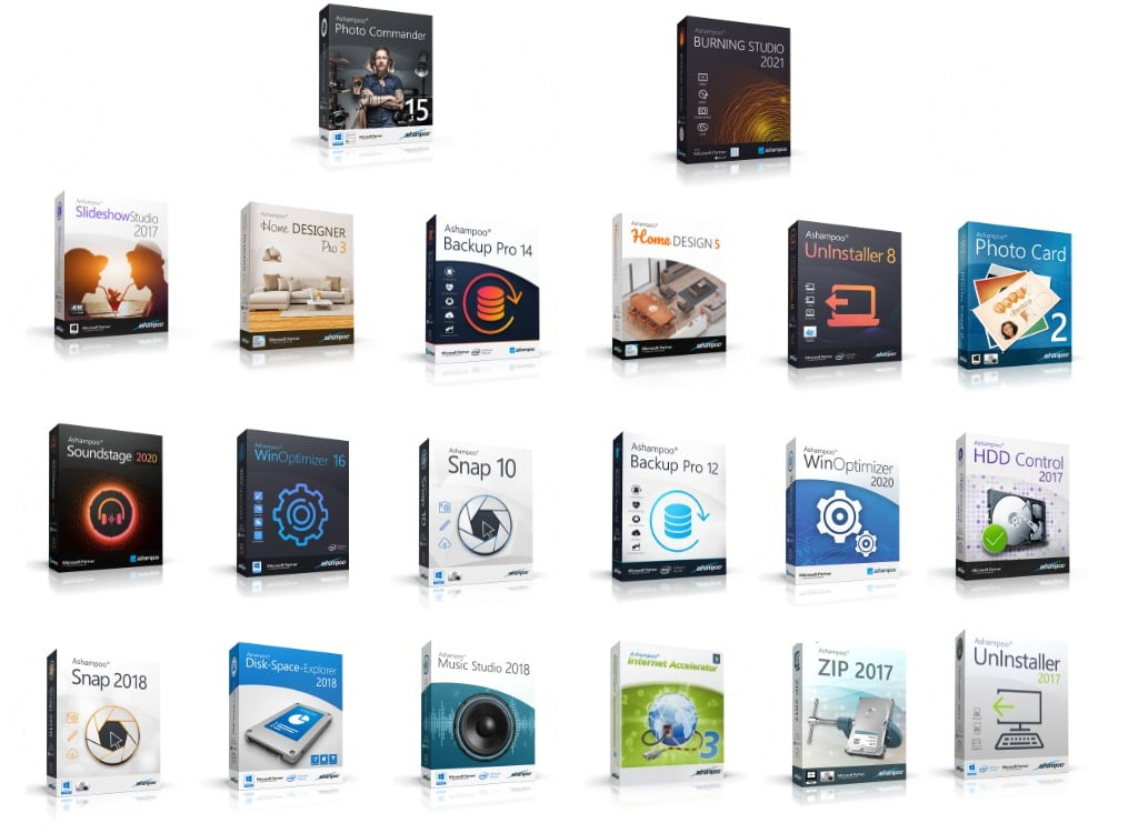 20 Software Ashampoo para PC
