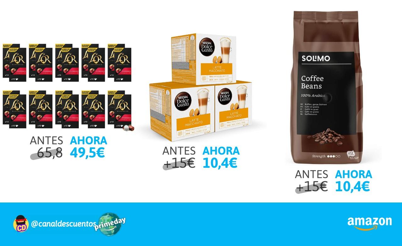 Selección de café en Prime Day