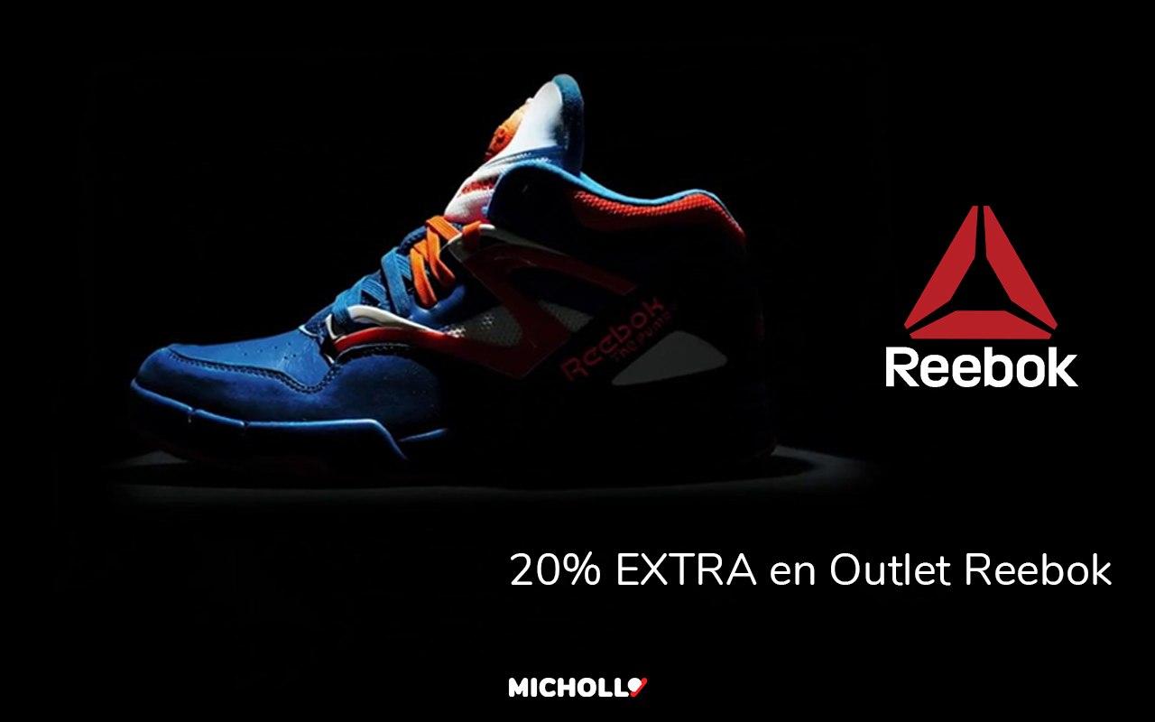 20% de dto. EXTRA Outlet Reebok