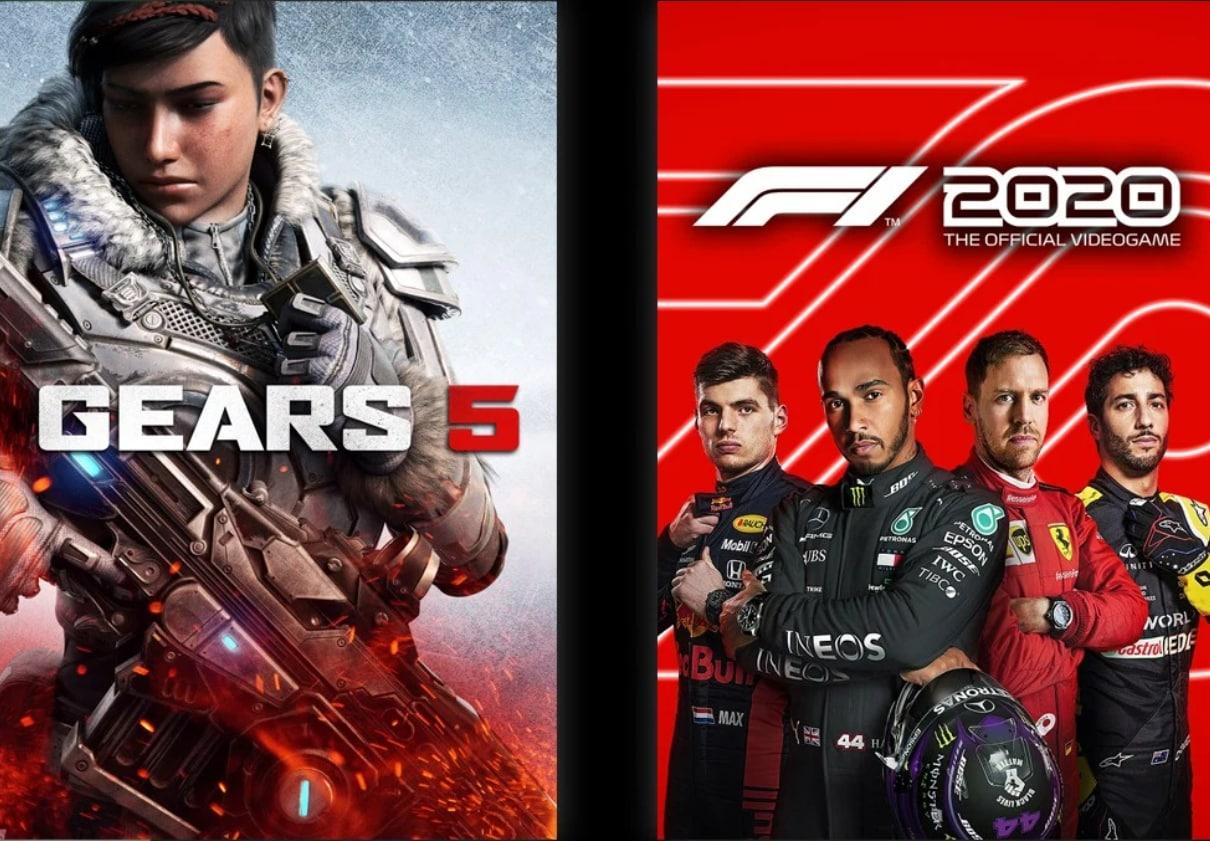 Juega a Gears 5 y F1 2020 en Xbox One, Serie X S o PC