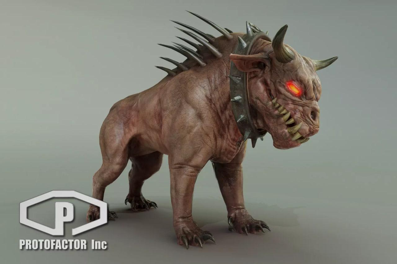 Demon Dog Unity 3D