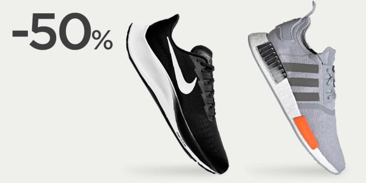 Hasta 5% Dto en zapatillas de deporte de marca