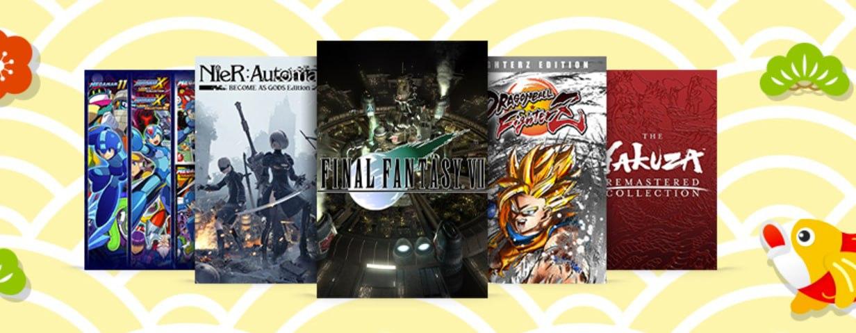 Ofertas de la Semana Dorada 2021 (juegos inspirados en Japón) Xbox