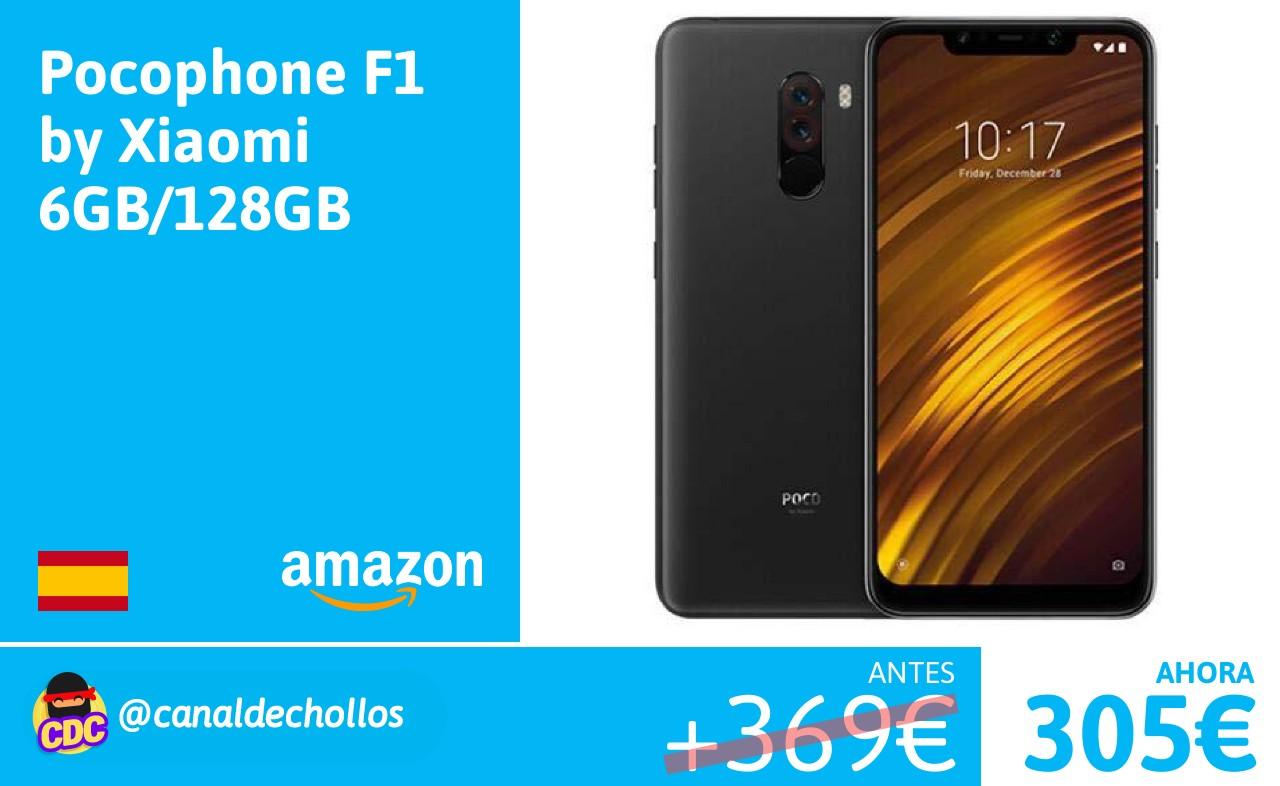 Chollos Ofertas Y Descuentos En Pocophone F1 By Xiaomi 6gb 64gb Solo 305