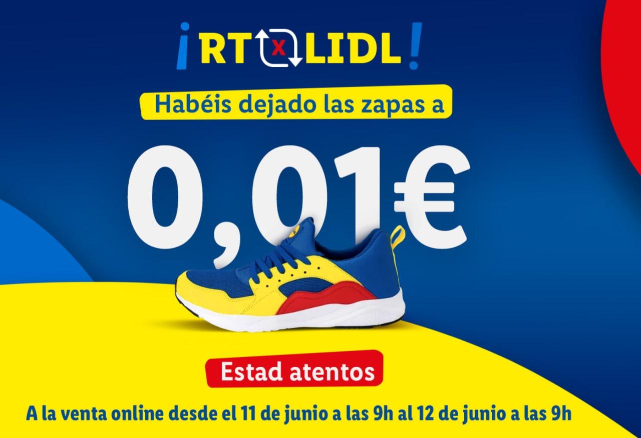 Zapatillas Lidl (Viernes 11 de junio a las 9h)