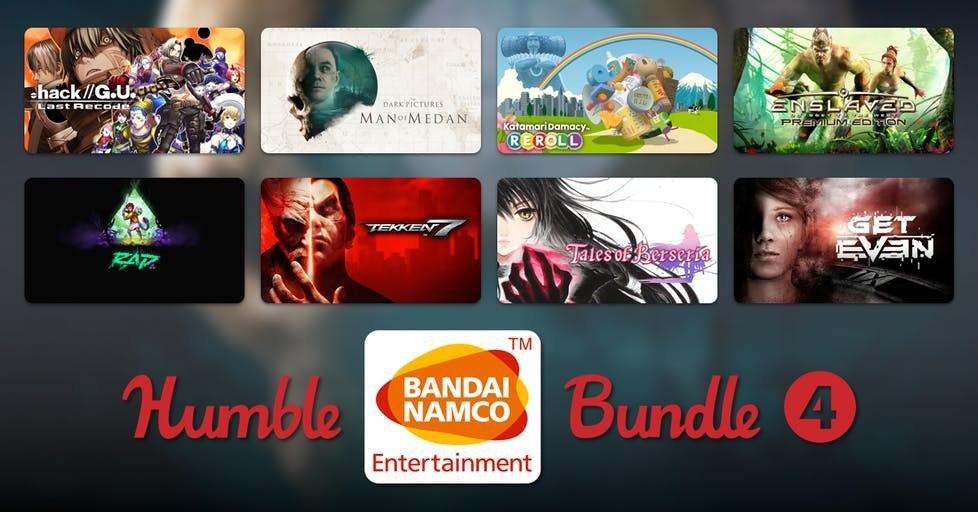 Humble Bandai Namco Bundle 4 desde 1€