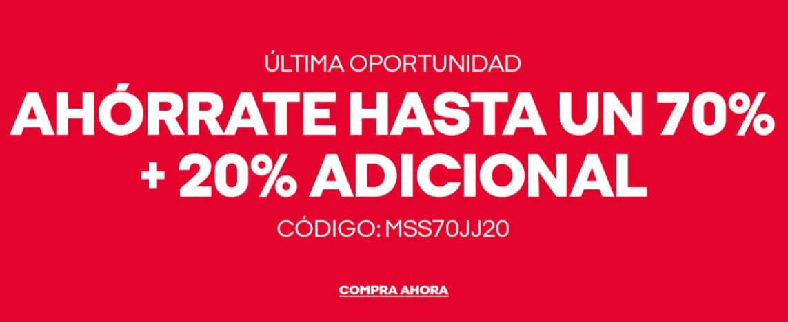 Hasta 70% de dto. + 20% EXTRA en Jack&Jones