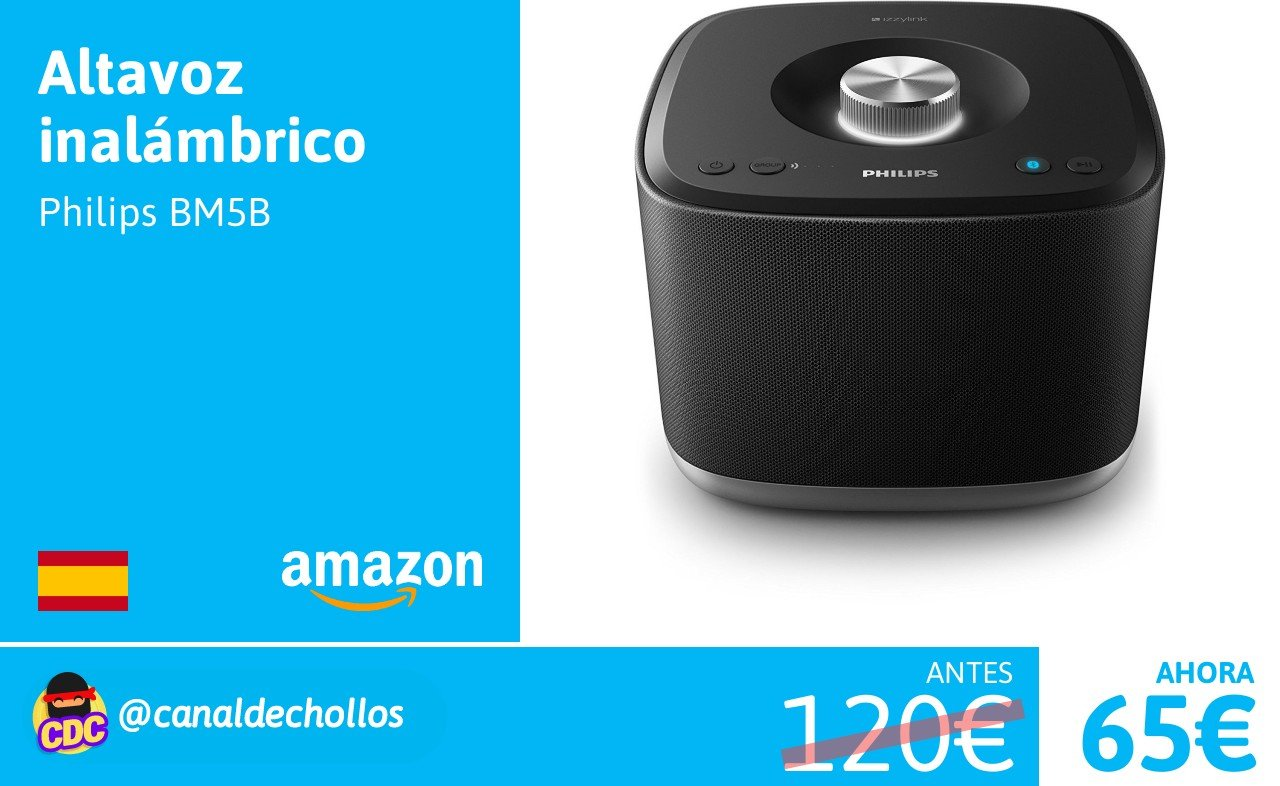 Philips Sistema Audio Multiroom izzilink bm5b Bluetooth