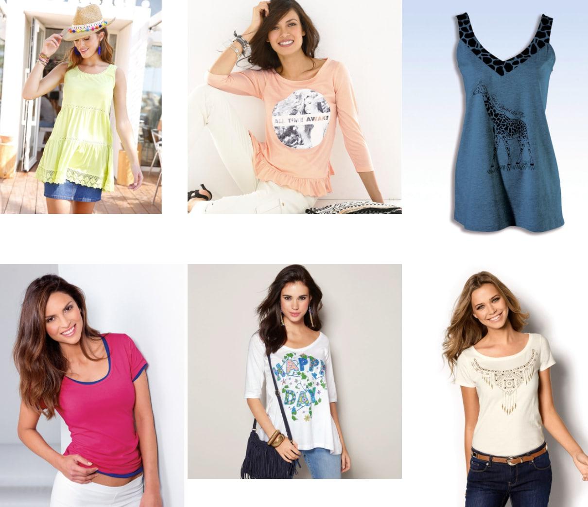 5 Camisetas (muchos modelos y tallas)