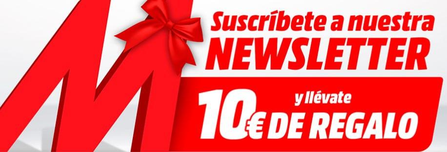 10€ de descuento en compras superiores a 100€ en todo MediaMarkt