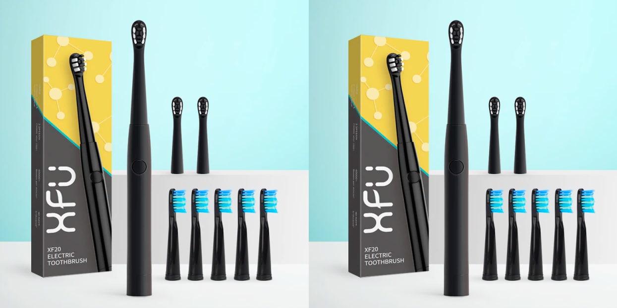 2 kits Cepillos eléctricos Seago XFU + 8 cabeales