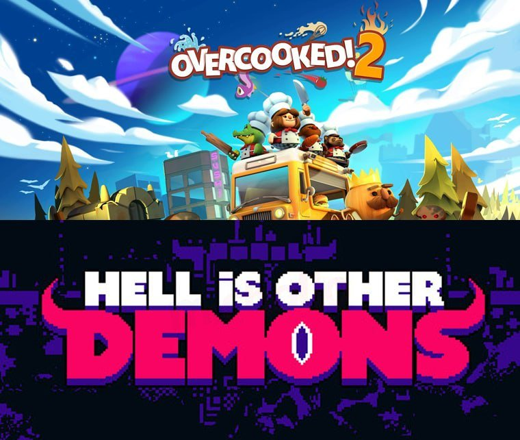 Overcooked! 2 y Hell is Other Demons en Epic Games