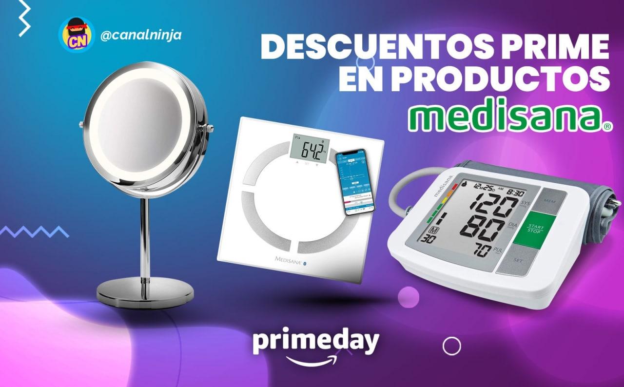 Descuentos Prime en productos Medisana