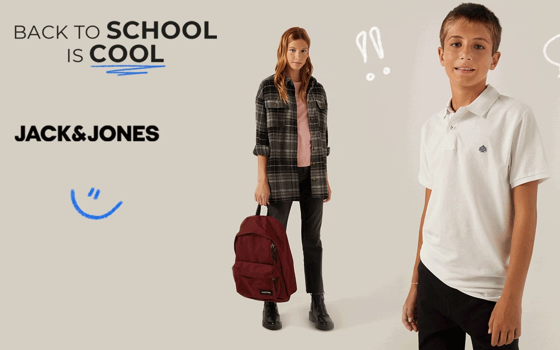 8€ Dto. en compras +35€ en Colección Black To School Springfield