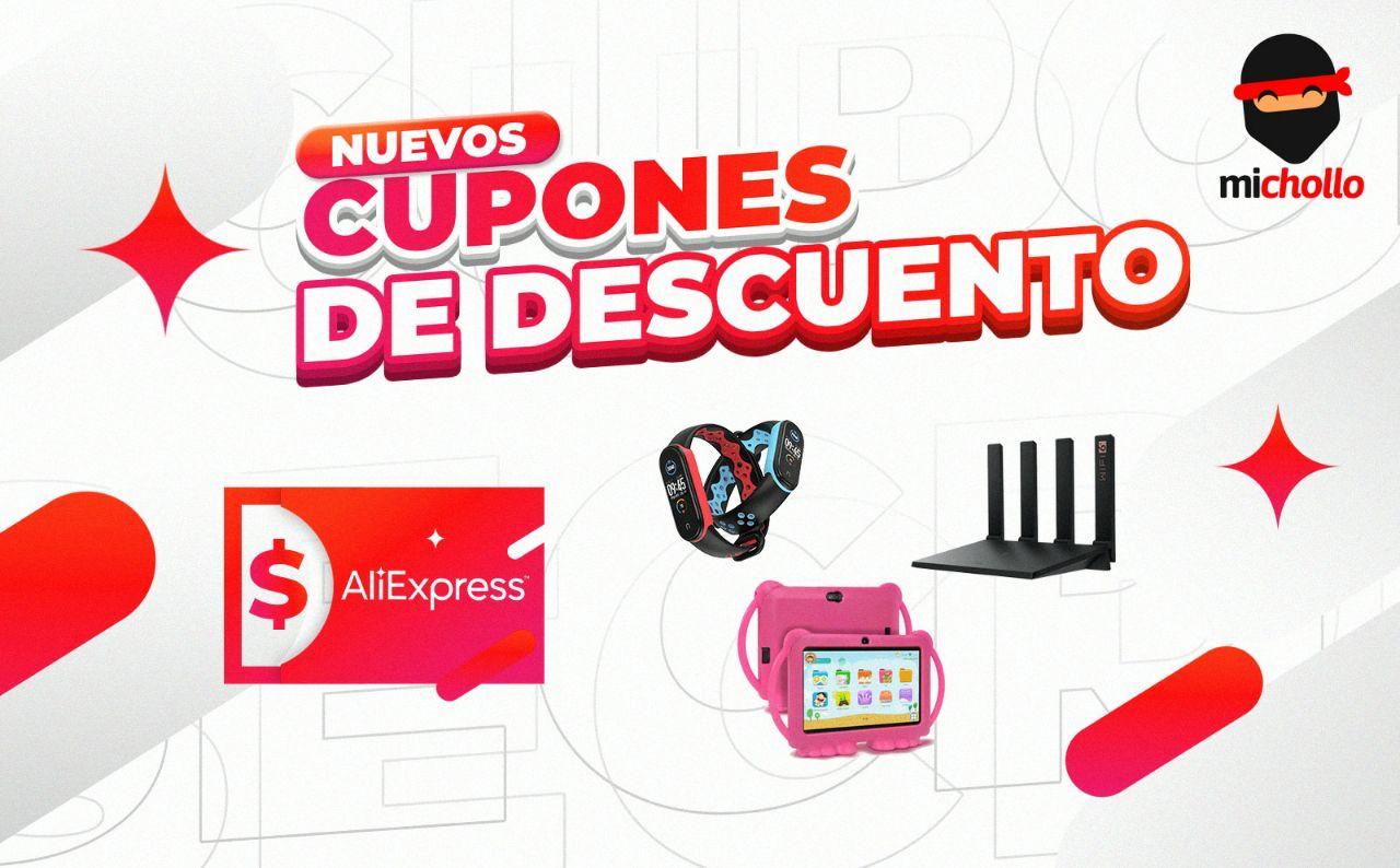 Nuevos cupones para una selección de productos en Aliexpress