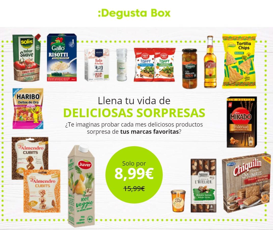Tu primera caja Degustabox de Junio
