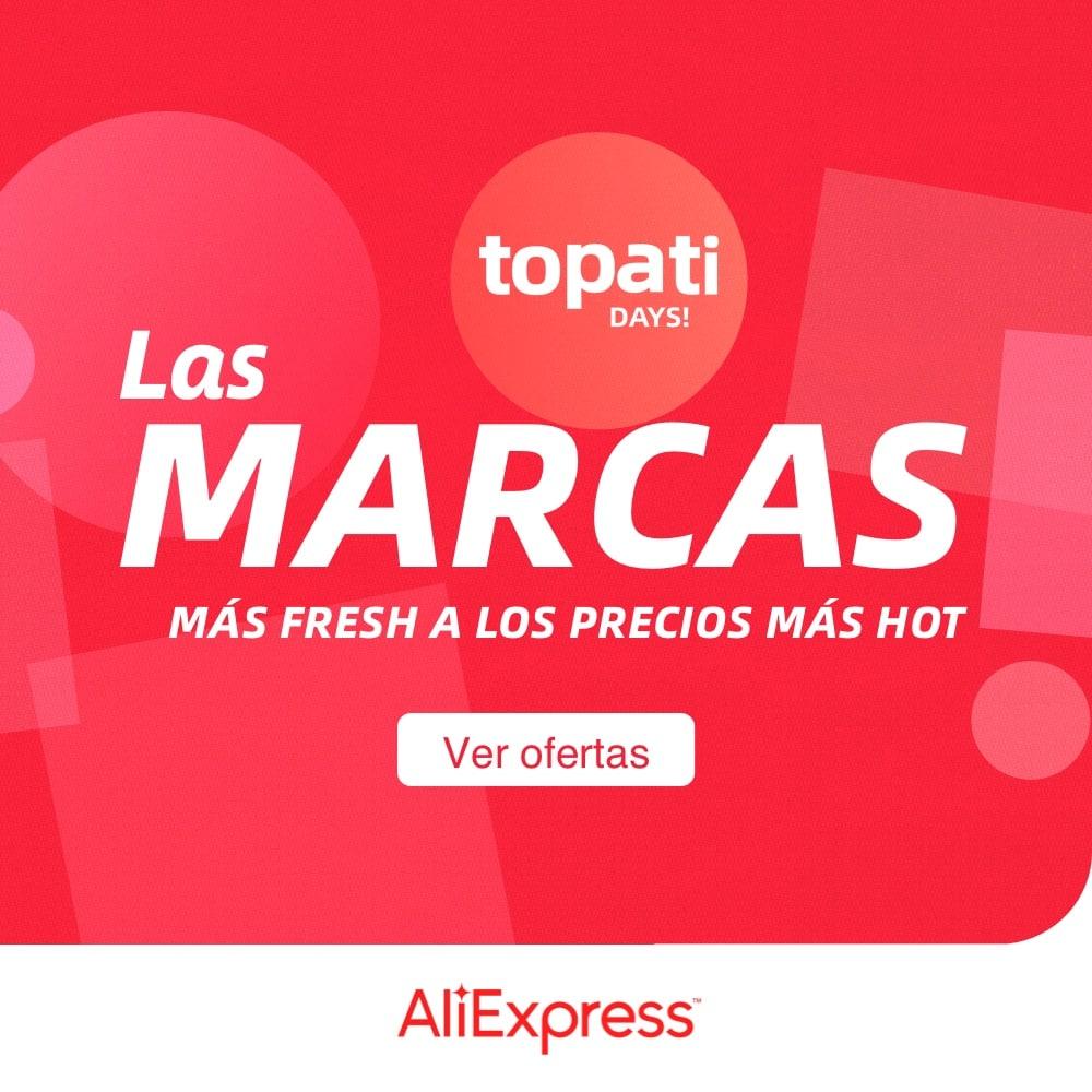 "Códigos promocionales Aliexpress ""TO PA TI DAYS"" para Aliexpress (a partir del 24/05/21)"