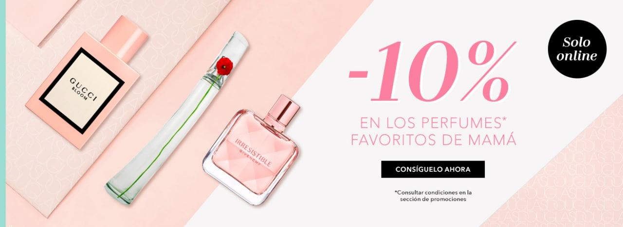 10% EXTRA en selección de Perfumes Douglas para Mamá