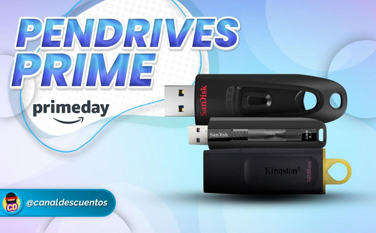 Descuentos en Almacenamiento USB en Prime Day