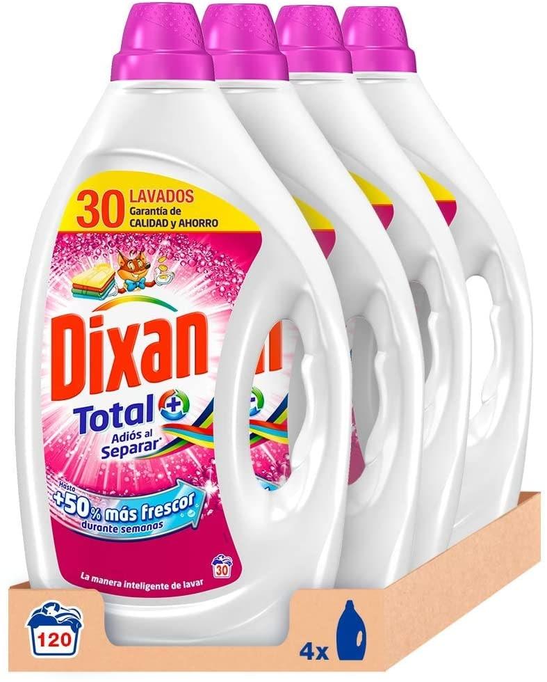 120 lavados Dixan Detergente Líquido adiós al separar