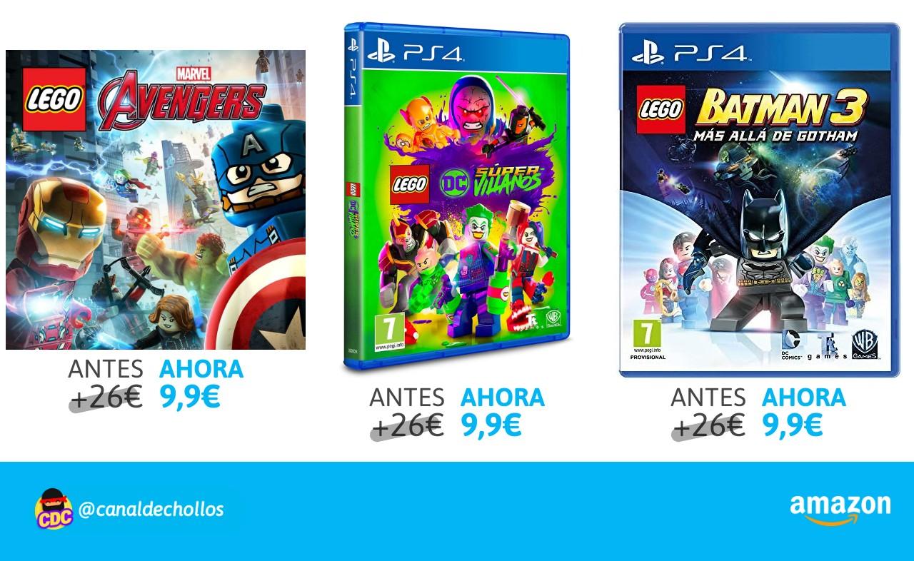 Recopilación Lego PS4