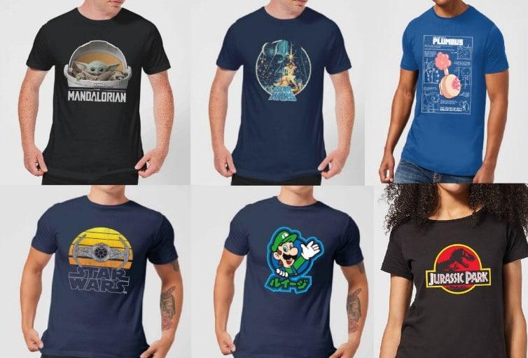 2x Camisetas Frikis