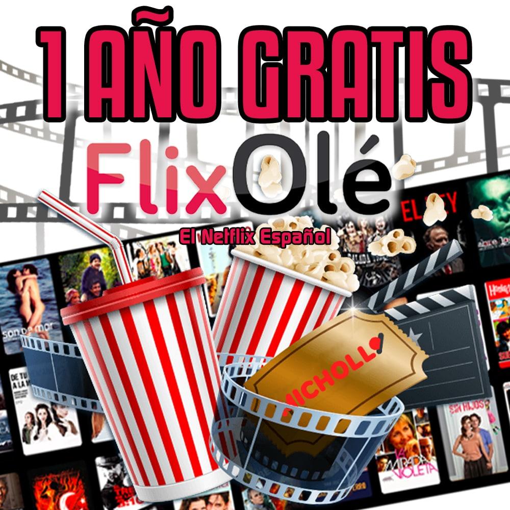 1 AÑO de FlixOlé GRATIS (Cine y Series)