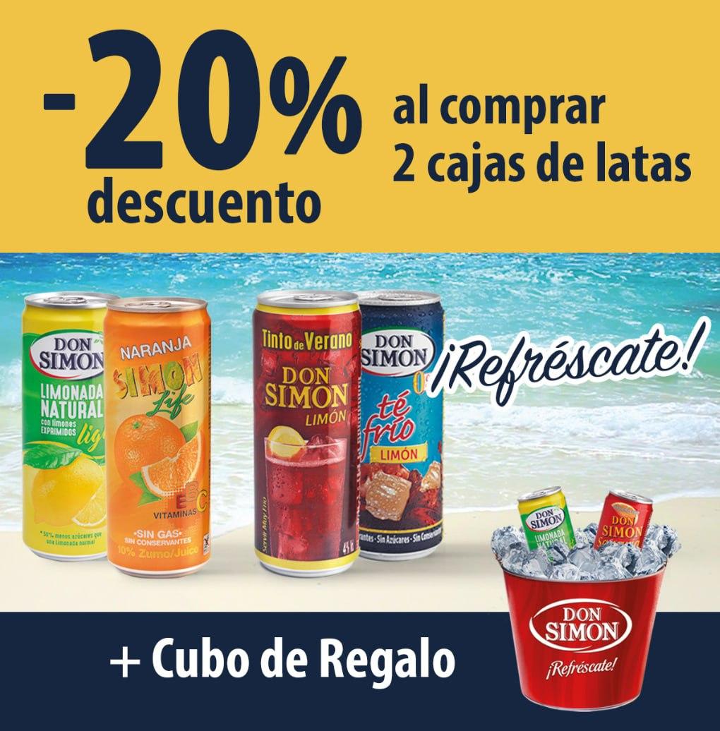 20% Dto. en latas + Cubo de Regalo Don Simon