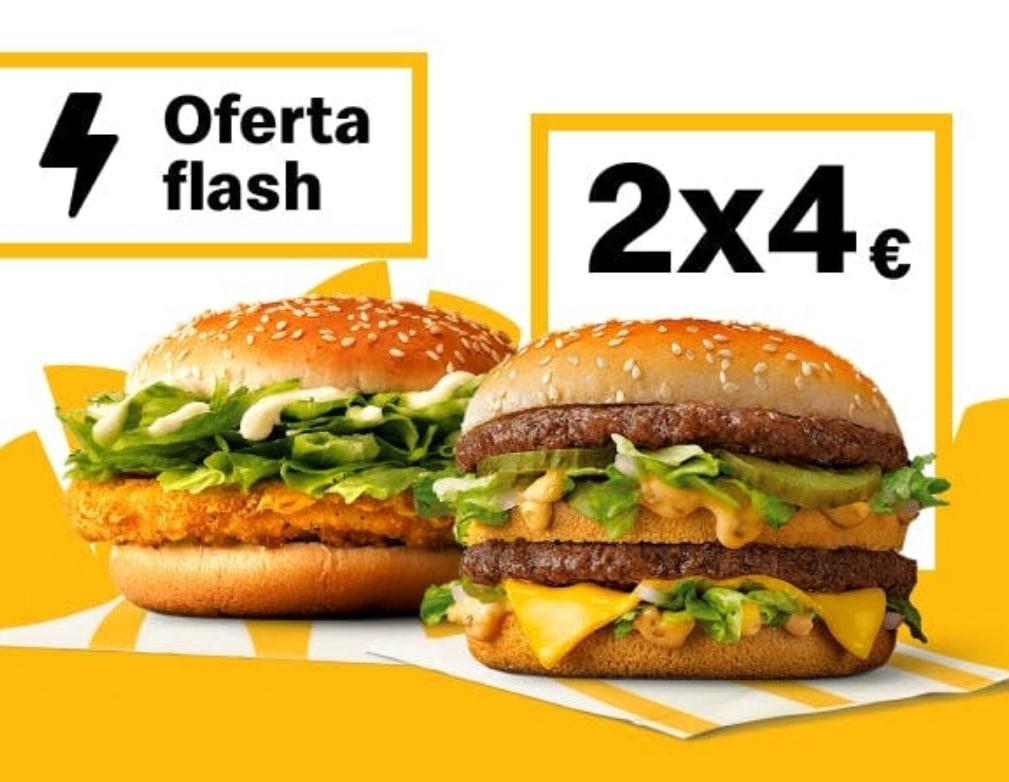 2 Big Mac o 2 McPollo en McDonald's (Oferta semanal)
