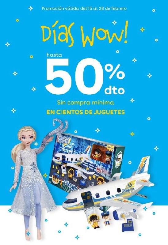 """Hasta -50% en miles de artículos en los Días Wow! de Toys """"R"""" Us"""