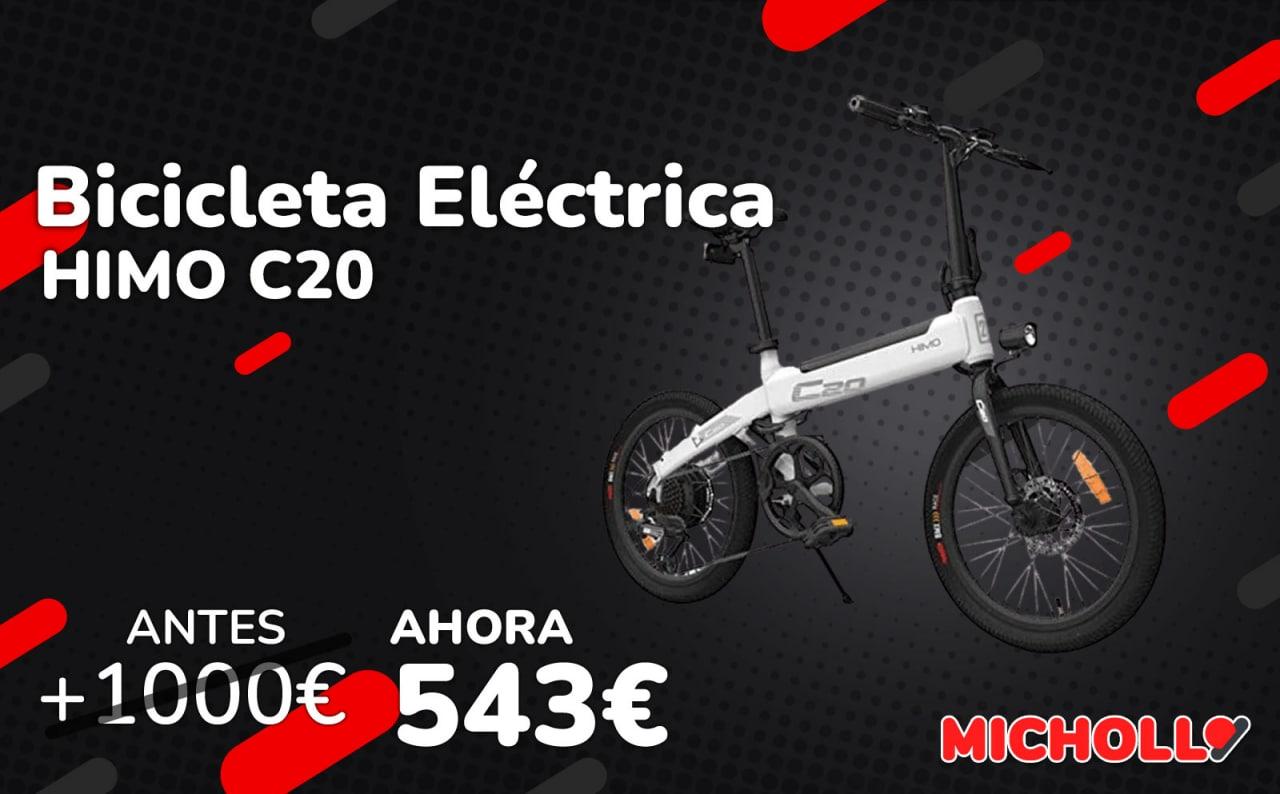 Bicicleta eléctrica Lixada HIMO C20