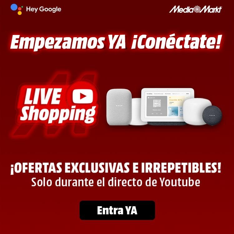 Live Shopping de MediaMarkt: Ofertas en Vivo