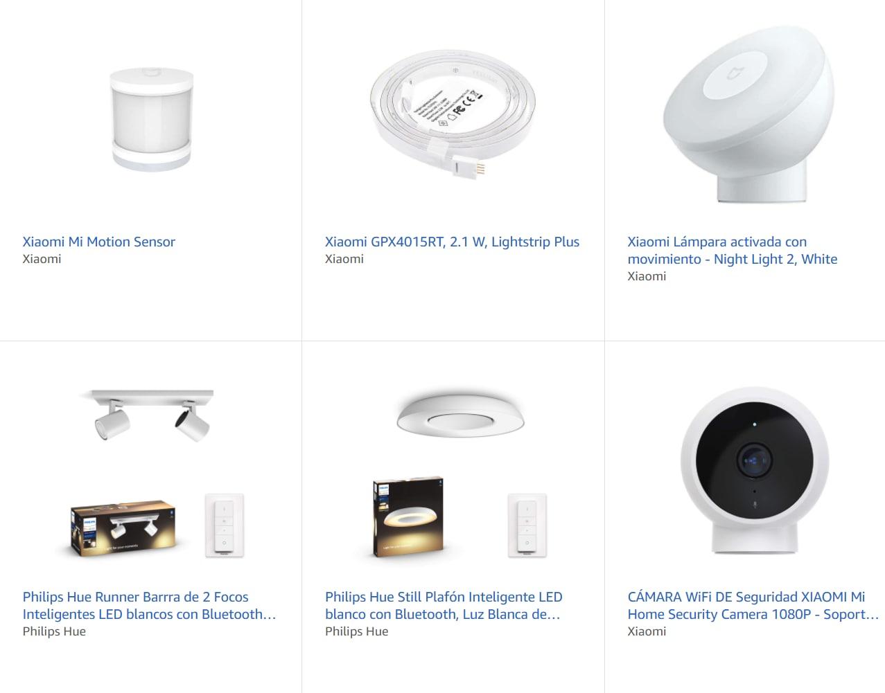 3x2 en productos de iluminación Xiaomi y Philips