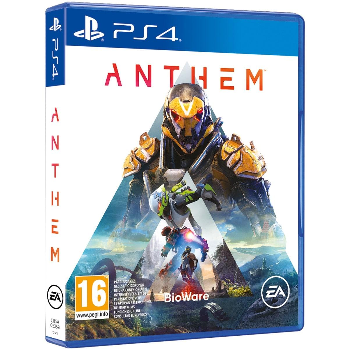 Anthem, Rocket Arena Mythic Edition y más para PS4/PC/Xbox