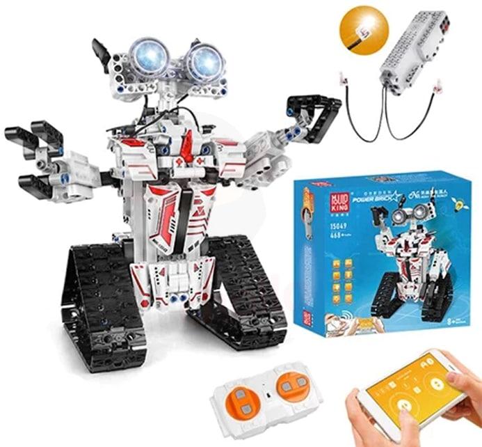 Robot RC de bloques de construcción