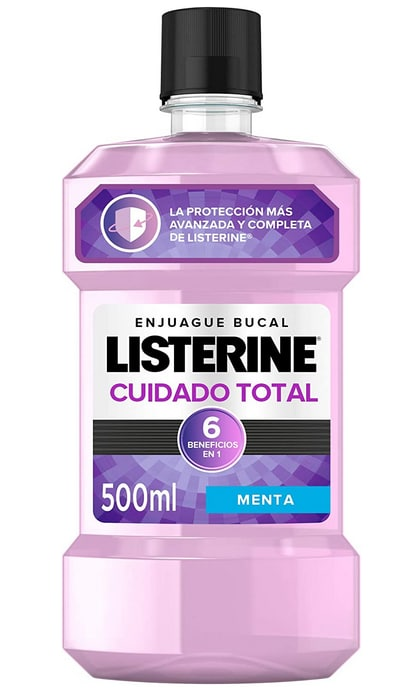Enjuague Bucal Listerine Cuidado Total 500ml