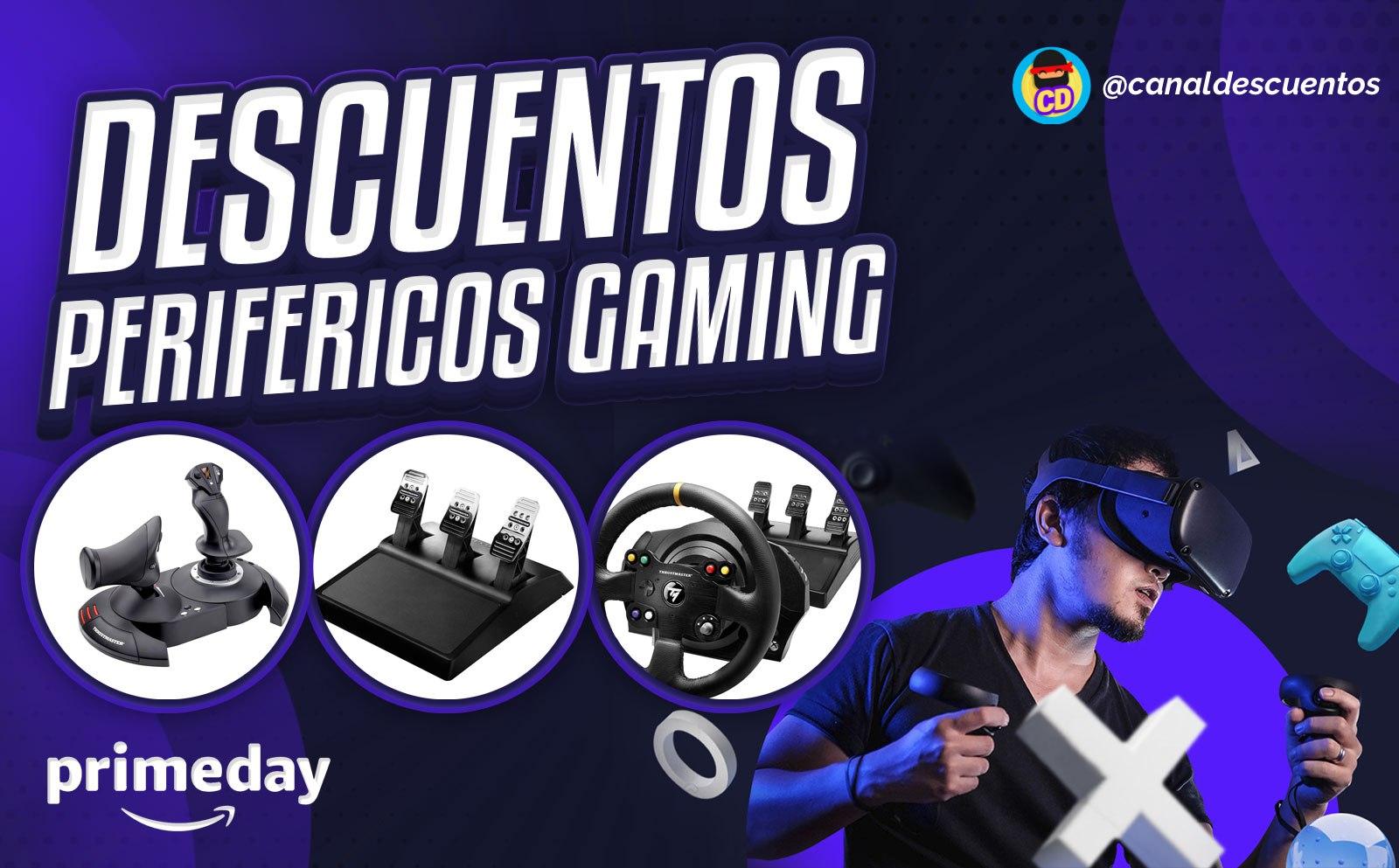 Descuentos en periféricos gaming en Prime Day
