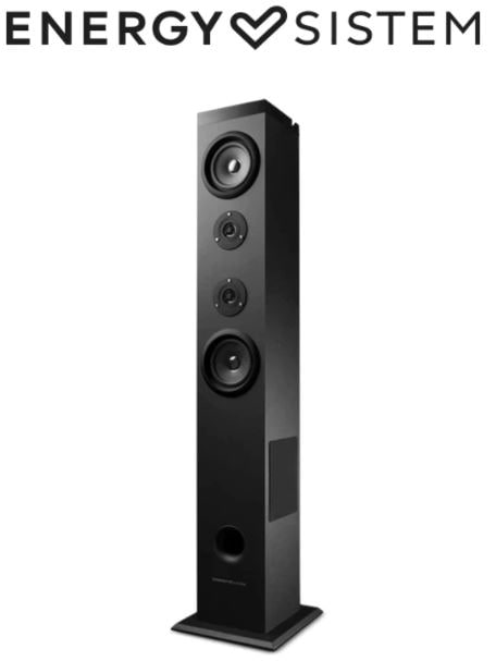 Torre de Sonido Energy Sistem Tower EU con Bluetooth