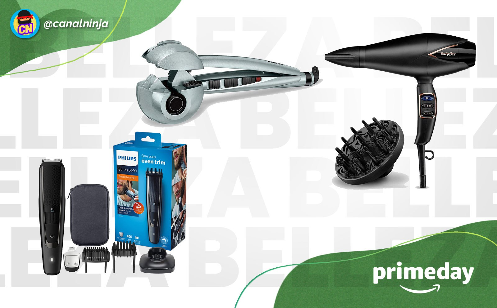 Ofertas Prime Day en productos de cuidado personal y belleza
