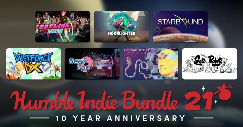 Humble Indie Bundle 21 desde 1€