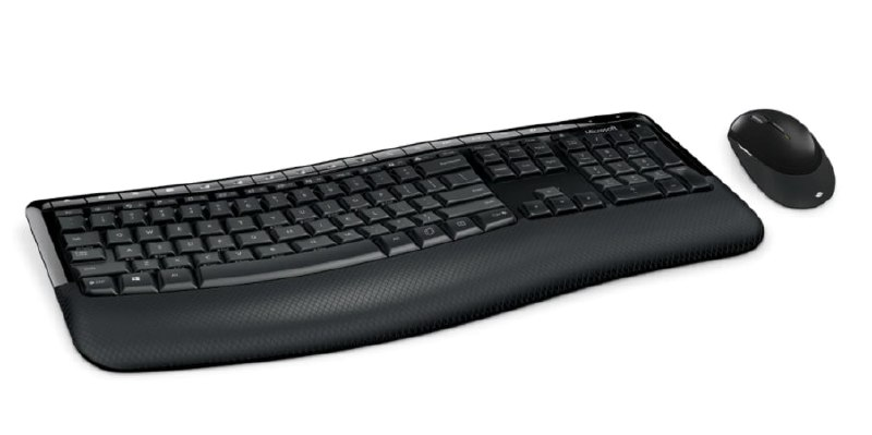 Como teclado + ratón Microsoft Wireless Comfort Desktop 5050